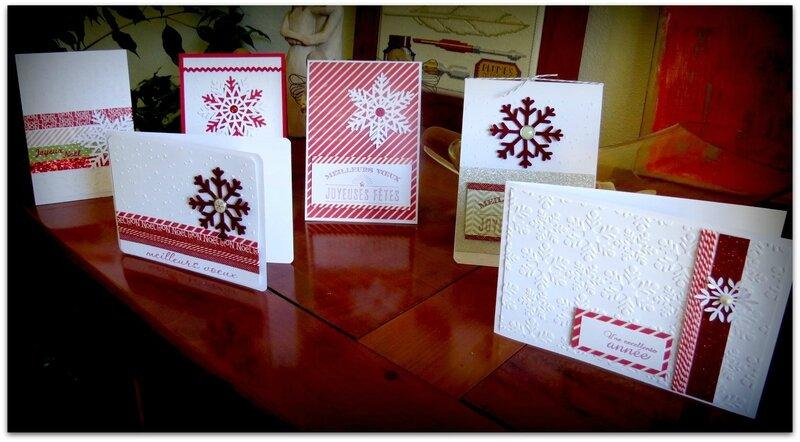 cartes flocons