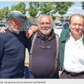 Yvon Le Corre, Alain Connan, Hubert de Gévigney