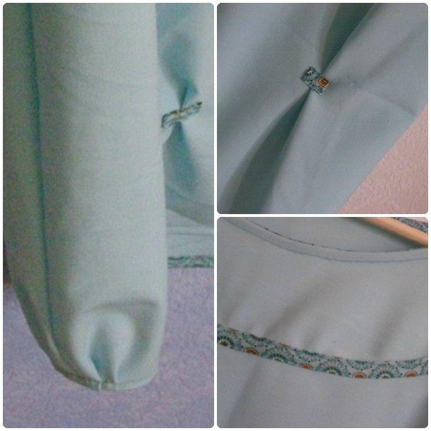 robe turquoise 2