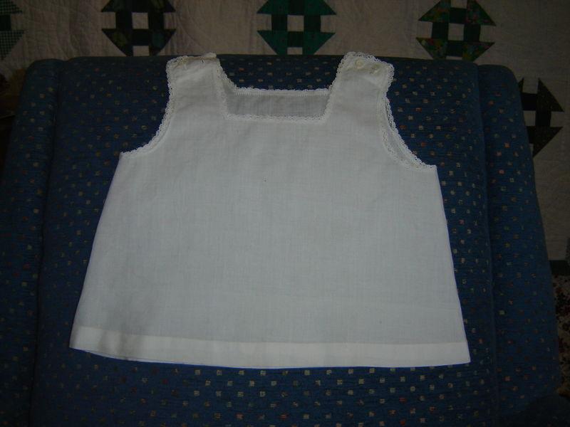 petite chemise en linon point de Paris