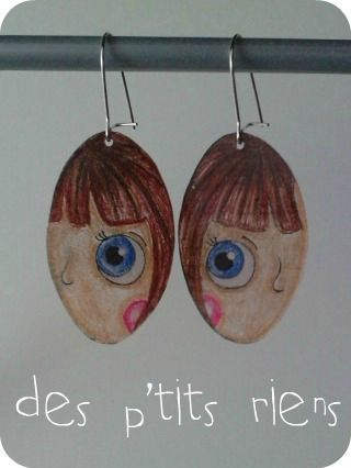 boucles d'oreille regard 1