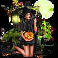 Cadre cluster halloween