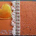 love orange - ATC de cerise