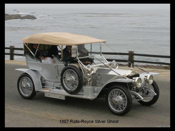 1907 - Rolls Royce Silver Ghost