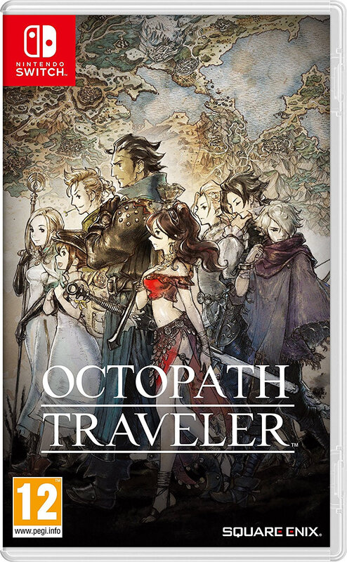 Octopath Travelers switch