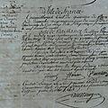 Acte de naissance de Montagu Marie Eleonore