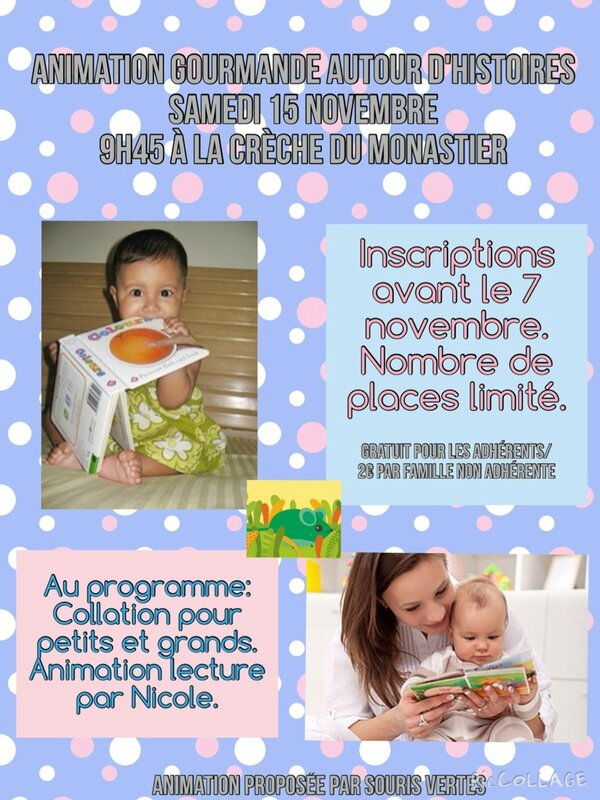 affiche animation lecture