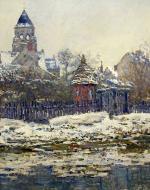 1879, Eglise de Vétheuil