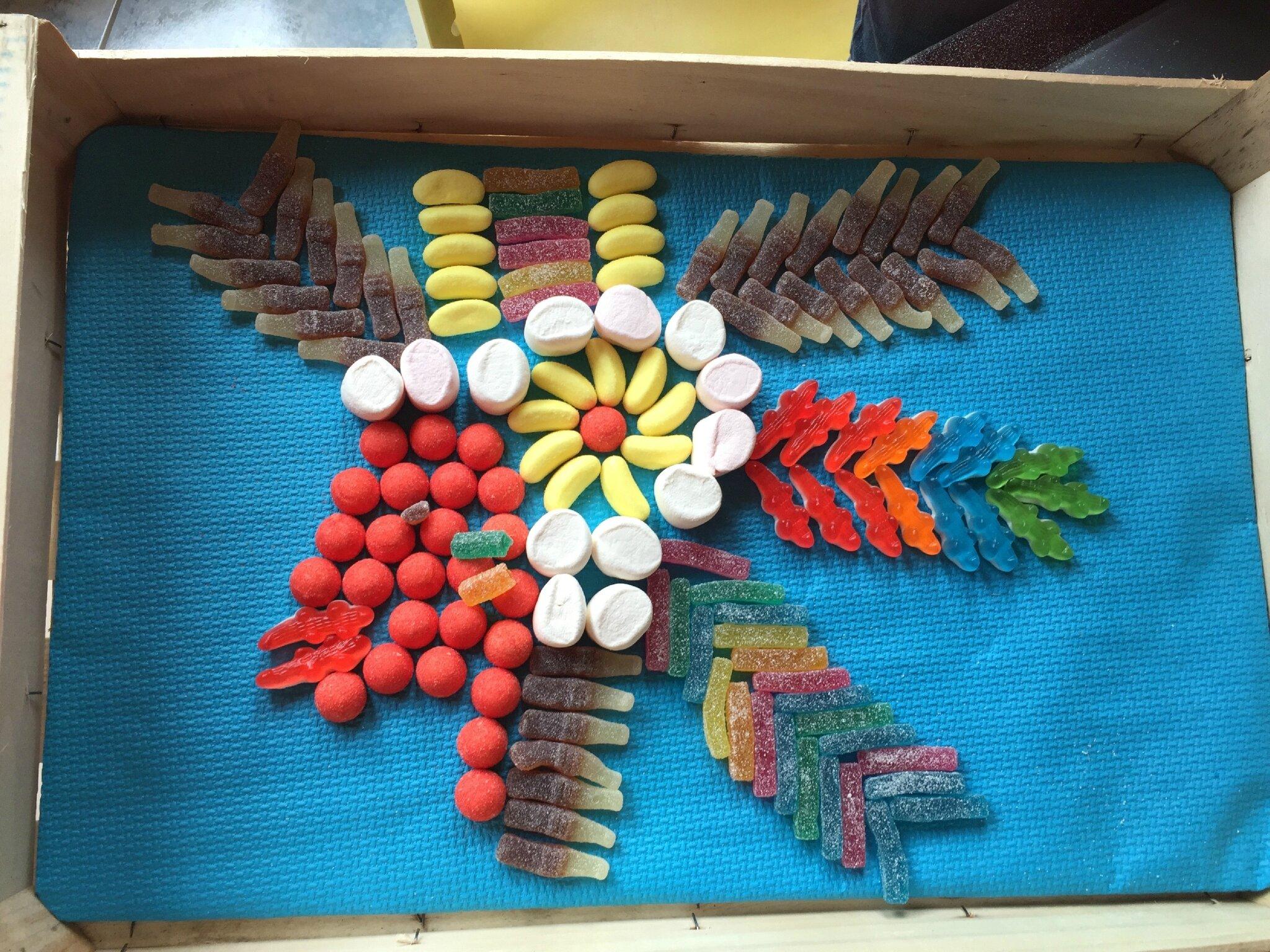 Indien en bonbons