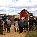 Amparafara (mai 2014) - Départ du village