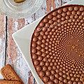 Entremet chocolat et spéculoos