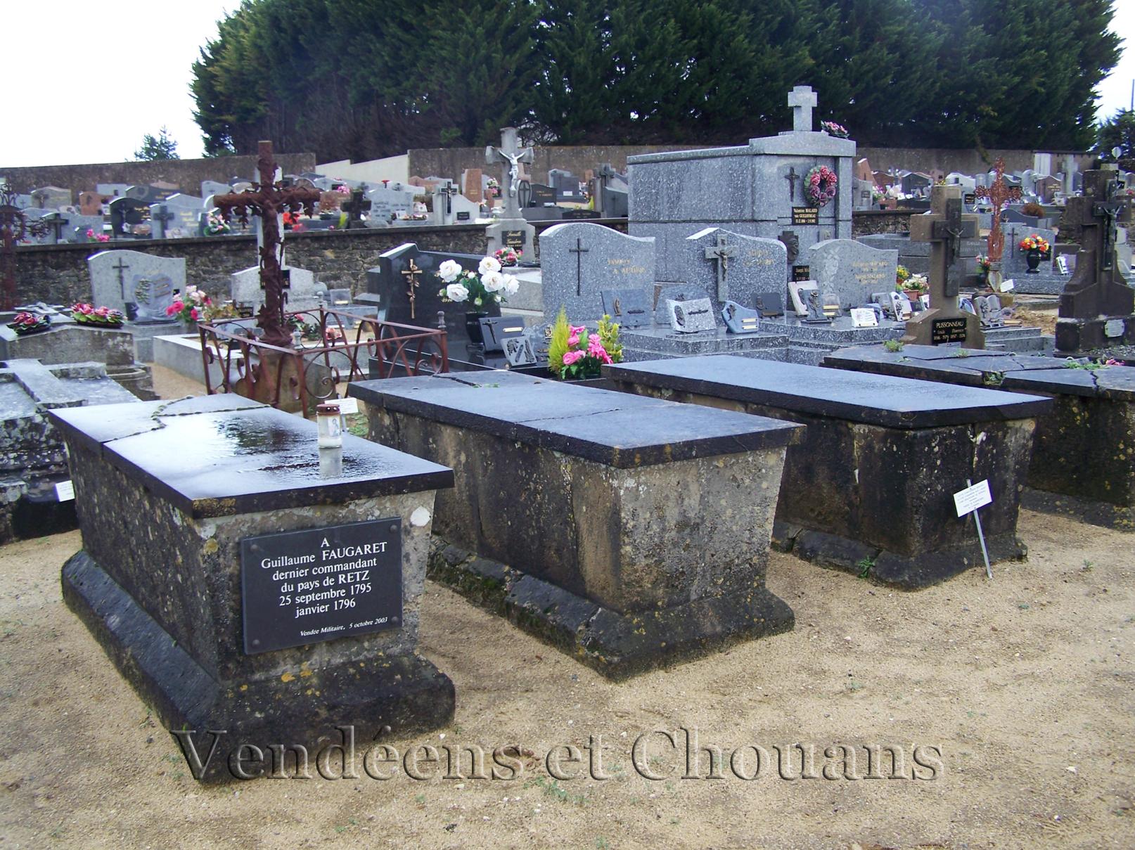 Arthon-en-Retz (44) – Tombe de Guillaume Faugaret