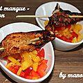 Poulet mangue et poivron