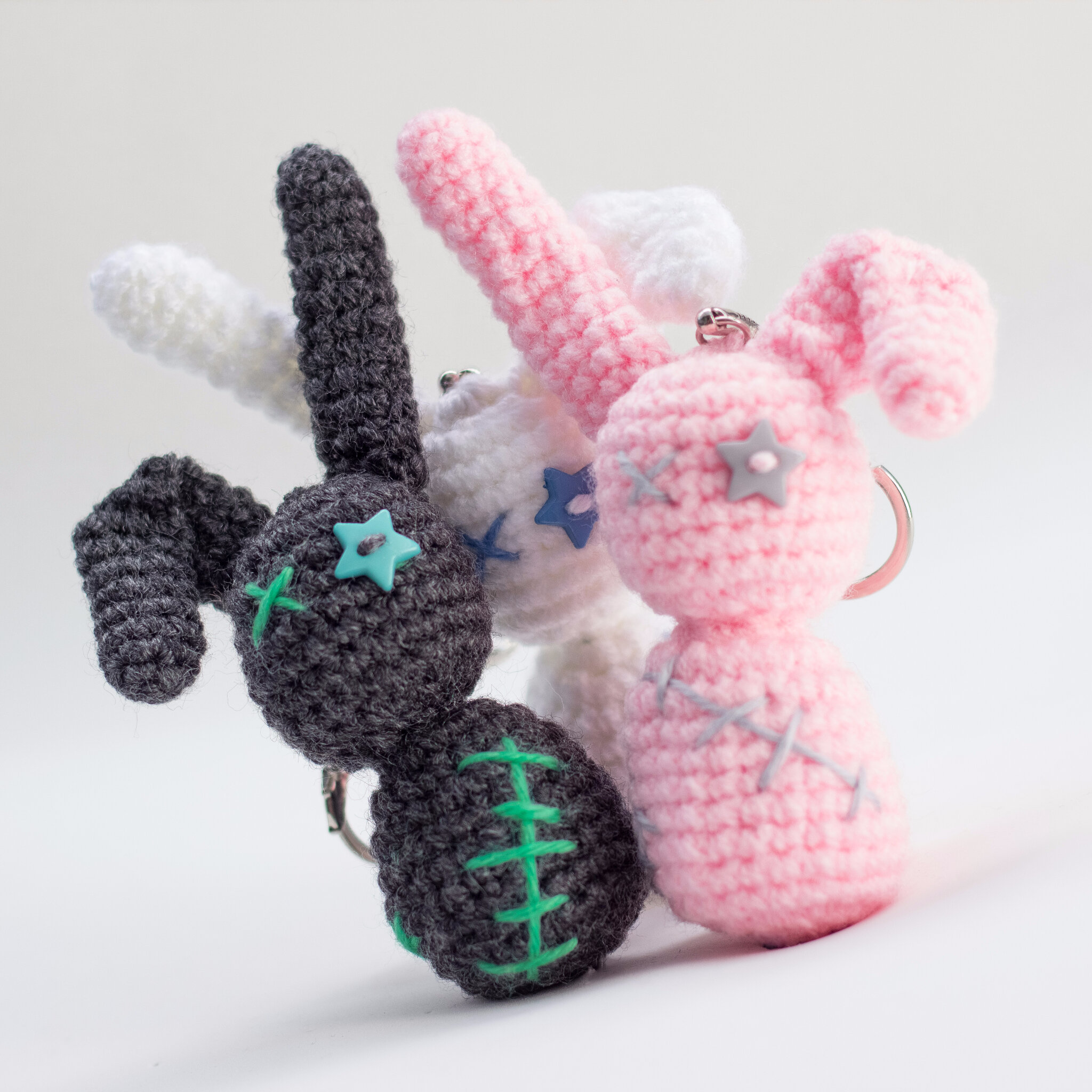 Free crochet pattern: Rayman Raving Rabbid. | 2048x2048