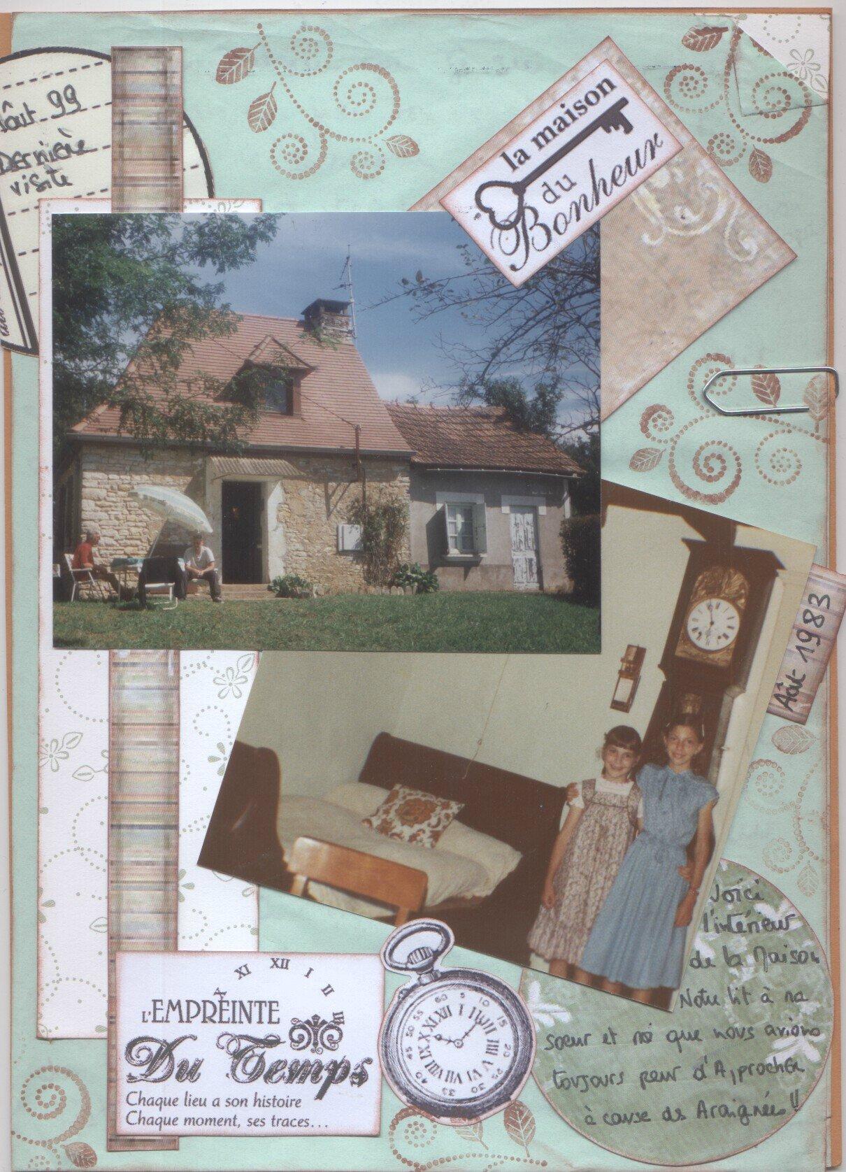 maison de mon enfance
