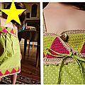 Devoir de vacances : une robe aux triangles top !