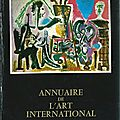 Annuaire de l'art international 1968-1969