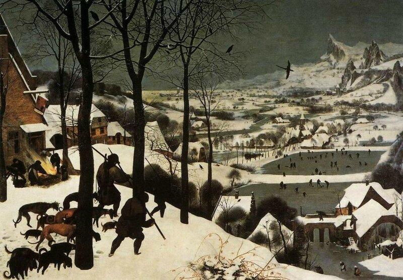 Pieter-Bruegel-the-Elder-The-Hunters-in-the-Snow-January-
