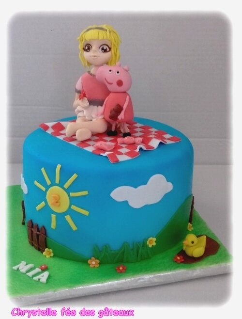 Gateau peppa