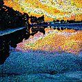 Reflet du soir
