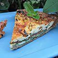 Jardinier vs wendy la chèvre. jardinier: 0, wendy: 1. pour jord, une tarte verte épinard, pistache et roquefort!