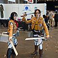 Cosplay Mikasa et Hannes (AoT)