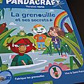 Pandacraft mars 2018, version verte: la grenouille et ses secrets