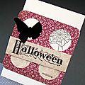 Cartes halloween, série 2