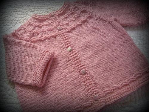 Gilet bébé sans couture