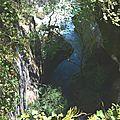 Les impressionnantes chutes du Gave de Lescun...
