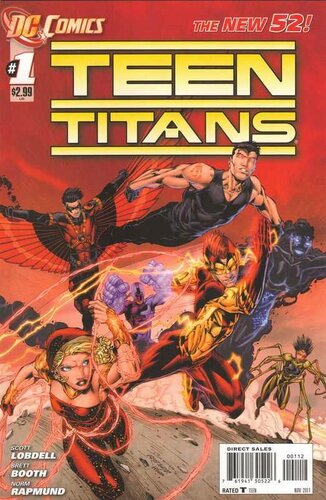 new 52 teen titans 01 2e print