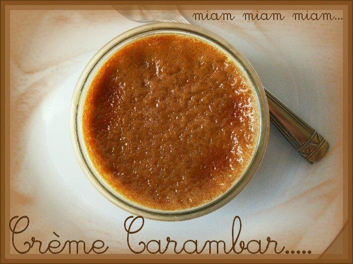 crème carambars 1