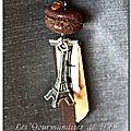 Macaron à la parisienne chocolat café