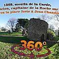 1369, moulin de la garde, jean belon, capitaine de la roche sur yon, livra la place forte à jean chandos