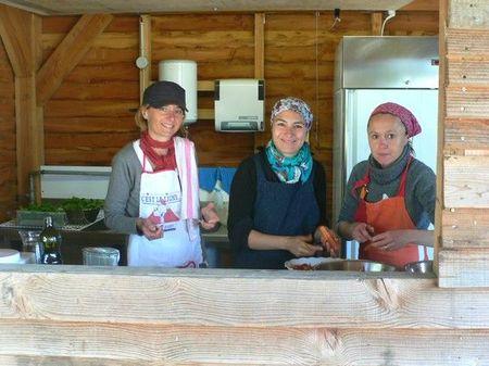 gloriette les cuisinières ATABLE 15 mai 2011