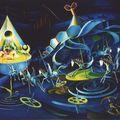 Peintures de Claude Bertrand