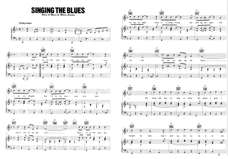Singing the blues 01
