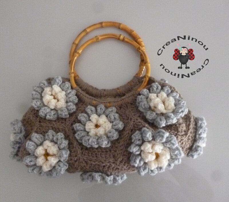 sac granny fleur A