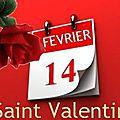 Bonne saint valentin - 14 février 2015