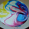 Expérience haute en couleurs sur la tension de surface