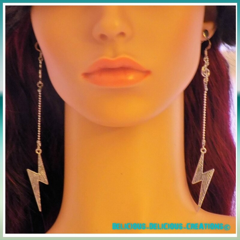 earrings lightening 1