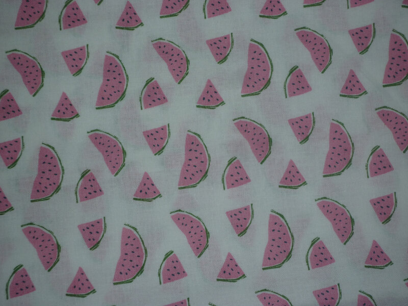 tissu pastèque