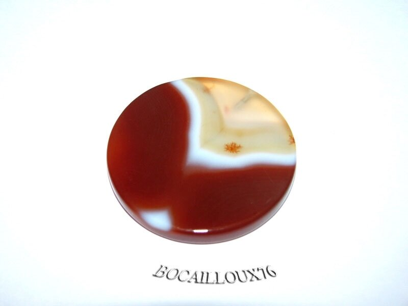 AGATE Orange Disque 4 (1)