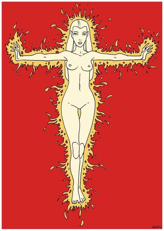 Femme-Flambeau