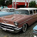 Chevrolet bel air townsman wagon-1957