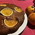 Gâteau chocolat orange