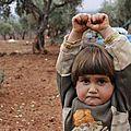 La photo d'une fillette syrienne bouleverse le monde