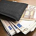 Porte monnaie magique d'argent