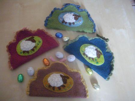 pochettes agneau de Pâques 002