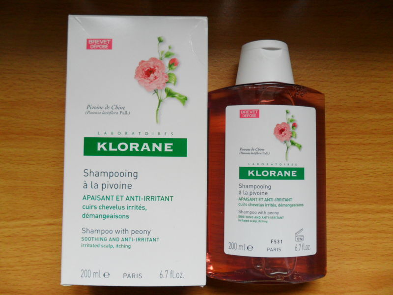 achat shampooing klorane a la pivoine ma vie en couleurs blog makeup. Black Bedroom Furniture Sets. Home Design Ideas